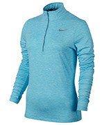 bluza do biegania damska NIKE ELEMENT HALF ZIP / 685910-432
