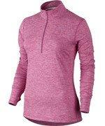 bluza do biegania damska NIKE ELEMENT HALF ZIP / 685910-616