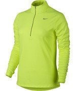 bluza do biegania damska NIKE ELEMENT HALF ZIP / 685910-702