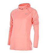 bluza do biegania damska NIKE ELEMENT HOODY / 685818-808