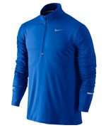 bluza do biegania męska NIKE DRI-FIT ELEMENT HALF ZIP / 683485-452
