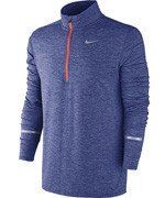 bluza do biegania męska NIKE DRI-FIT ELEMENT HALF ZIP / 683485-457