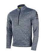 bluza do biegania męska REEBOK ONE SERIES LONGSLEEVE 1/2 ZIP / B47138