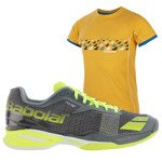 buty tenisowe męskie BABOLAT JET CLAY + koszulka BABOLAT / 30S16631-230
