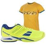buty tenisowe męskie BABOLAT PULSION ALL COURT + koszulka BABOLAT / 30S16425-22