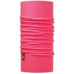 chusta do biegania BUFF HIGH UV PROTECTION BUFF SOLID PINK FLUOR / 111426.522