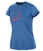 koszulka do biegania damska ASICS GRAPHIC SHORTSLEEVE TOP / 110423-0830