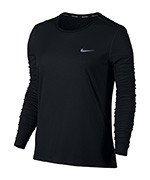 koszulka do biegania damska NIKE BREATHE RAPID TOP LONG SLEEVE / 863637-010