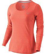 koszulka do biegania damska NIKE DRI-FIT CONTOUR LONG SLEEVE / 644707-877