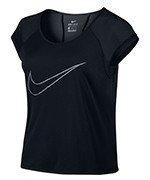 koszulka do biegania damska NIKE DRY TOP SHORT SLEEVE RUN FAST / 799574-010
