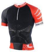 koszulka do biegania kompresyjna męska COMPRESSPORT TRAIL RUNNING SHIRT V2 SHORT SLEEVE / TSTRV2