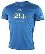 koszulka do biegania męska ADIDAS RUN TEE 11. PZU Półmaraton Warszawski / AI7489