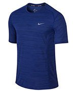 koszulka do biegania męska NIKE DRI-FIT COOL MILER SHORT SLEEVE / 718348-455