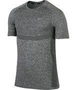 koszulka do biegania męska NIKE DRI-FIT KNIT SHORT SLEEVE / 717758-010
