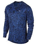 koszulka do biegania męska NIKE DRY MILER RUNNING TOP LONG SLEEVE / 807139-480