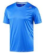 koszulka do biegania męska REEBOK RUNNING SHORT SLEEVE TEE / BR4456