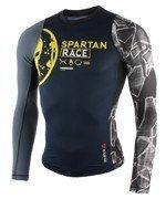 koszulka kompresyjna do biegania męska REEBOK SPARTAN PRO LONG SLEEVE COMPRESSION / AX9518