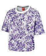 koszulka sportowa damska NIKE TOP ALLOVER PRINTED / 840651-540