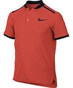 koszulka tenisowa chłopięca NIKE POLO ADVANTAGE SHORT SLEEVE / 832531-852
