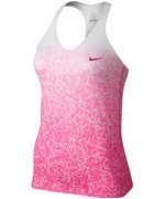 koszulka tenisowa damska NIKE ADVANTAGE PRINTED TANK / 646196-667