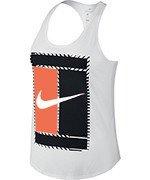 koszulka tenisowa damska NIKE DRY TANK LOGO / 831474-100