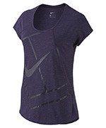 koszulka tenisowa damska NIKE PRACTICE TOP / 728752-524