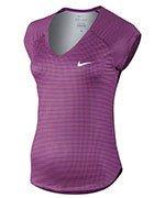 koszulka tenisowa damska NIKE PRINTED PURE TOP / 728759-556