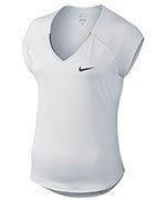 koszulka tenisowa damska NIKE PURE TOP / 728757-100