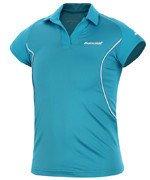 koszulka tenisowa dziewczęca BABOLAT POLO MATCH CORE / 42S1467-111