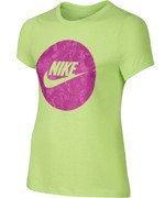 koszulka tenisowa dziewczęca NIKE CAT SEASONAL FUTURA TEE / 684159-342