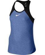 koszulka tenisowa dziewczęca NIKE SLAM TANK / 724715-486