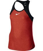 koszulka tenisowa dziewczęca NIKE SLAM TANK / 724715-696