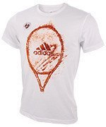 koszulka tenisowa męska ADIDAS ROLAND GARROS GRAPHIC TEE / BQ2547
