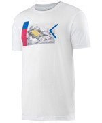 koszulka tenisowa męska HEAD TRANSITION DC1 GRAPHIC T-SHIRT / 811536 WH