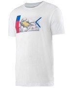 koszulka tenisowa męska HEAD TRANSITION DC1 GRAPHIC T-SHIRT / 811536 WH