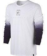koszulka tenisowa męska NIKE COURT LONG SLEEVE TEE / 848664-100