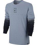 koszulka tenisowa męska NIKE COURT LONG SLEEVE TEE / 848664-449