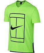 koszulka tenisowa męska NIKE DRY TOP BASELINE / 848388-367