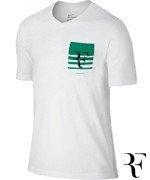 koszulka tenisowa męska NIKE ROGER TEE / 739477-100