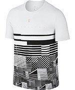 koszulka tenisowa męska NIKE TEE / 833252-100