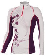 koszulka termoaktywna damska MIZUNO MIDWEIGHT PRINT HALF ZIP / 73CL39067