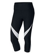legginsy damskie 3/4 NIKE POWER LEGENDARY CAPRI FBRIC TWIST / 833326-010