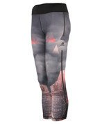 legginsy damskie ADIDAS WORKOUT 3/4 TIGHT CITY / AJ5065