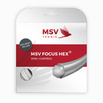 naciąg tenisowy MSV FOCUS HEX 12M WHITE