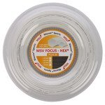 naciąg tenisowy MSV FOCUS HEX PLUS 25 200M WHITE