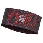 opaska do biegania BUFF FASTWICK HEADBAND BUFF R-DEEP LOGO RED / 113664.425.10