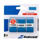 owijka tenisowa BABOLAT VS ORIGINAL GRIP X3 niebieska / 653040-136