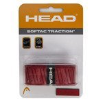 owijka tenisowa HEAD SOFTAC TRACTION RED / 285000