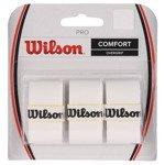 owijki tenisowe WILSON PRO OVERGRIP COMFORT WHITE x3 / WRZ4014 WH
