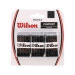 owijki tenisowe WILSON PROFILE OVERGRIP COMFORT x3 / WRZ4025 BK